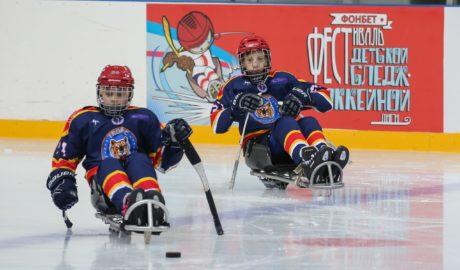 Слэдж хоккей 1