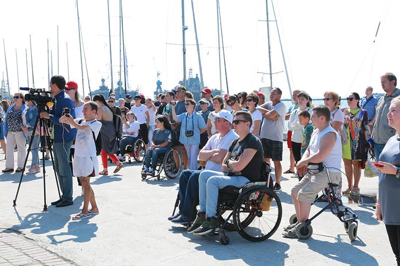 Яхтинг для инвалидов
