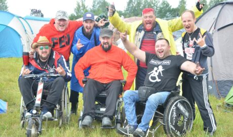 """festival """"Invasion"""" for people with disabilities"""