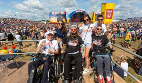 """festival """"Invasion"""" for the disabled"""