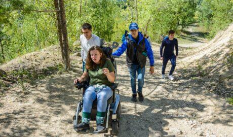 Инвалиды путешествуют
