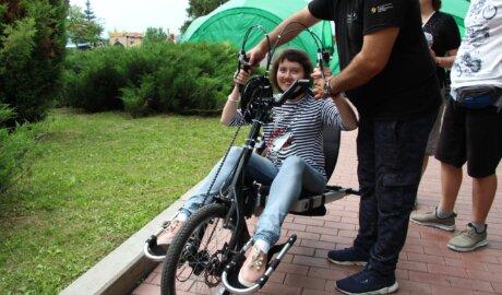 Велопрогулки для инвалидов
