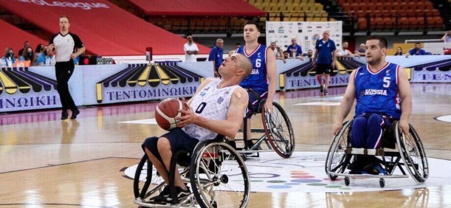 баскетболу на колясках