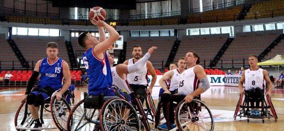 басктболу на колясках в самаре