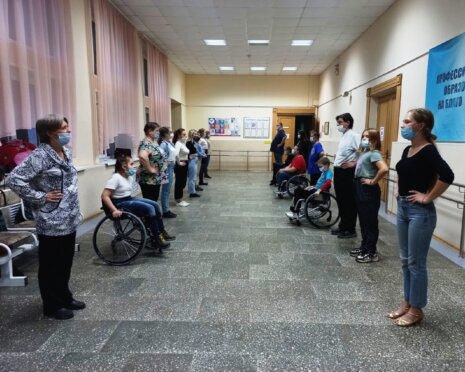 Репетиция Инклюзивного бала в Вологде